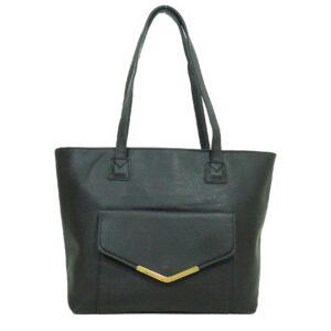 Ежедневна дамска чанта Еврика в черно - EvrikaShop