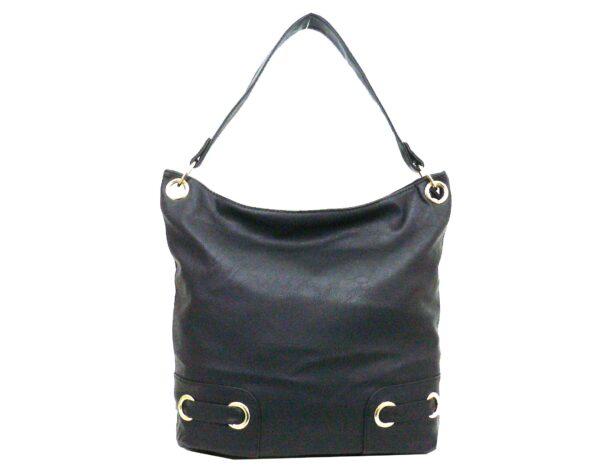 Дамска чанта Еврика тип торба черна - EvrikaShop
