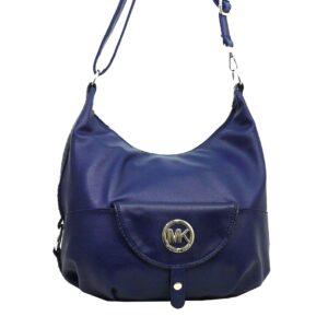 Стилна дамска чанта Еврика в синьо - EvrikaShop