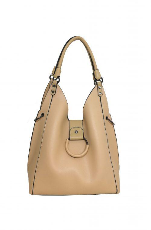 Чанта Еврика 49718В две в едно бежова
