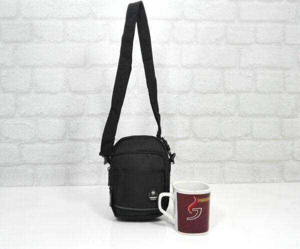 Чанта мъжка малка 10522 промазка