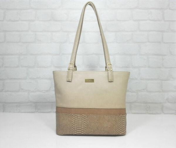 Чанта Еврика 10797-1 бежова гама
