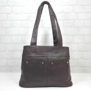 Чанта Еврика 64-101ТК тъмно кафява