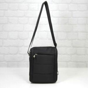Чанта мъжка 982 черна екокожа