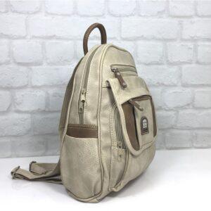 Чанта Еврика 56107Е екрю