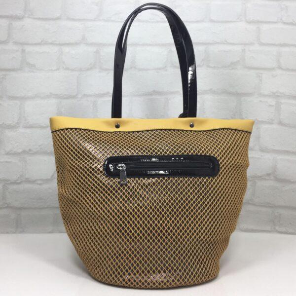 Чанта Еврика 50462Ж жълта