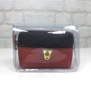 Модернадамска чантичка с изчистен дизайн EvrikaShop ®
