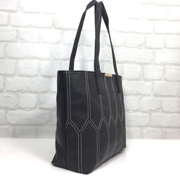 Чанта Еврика 64-142НБ черна с бяло