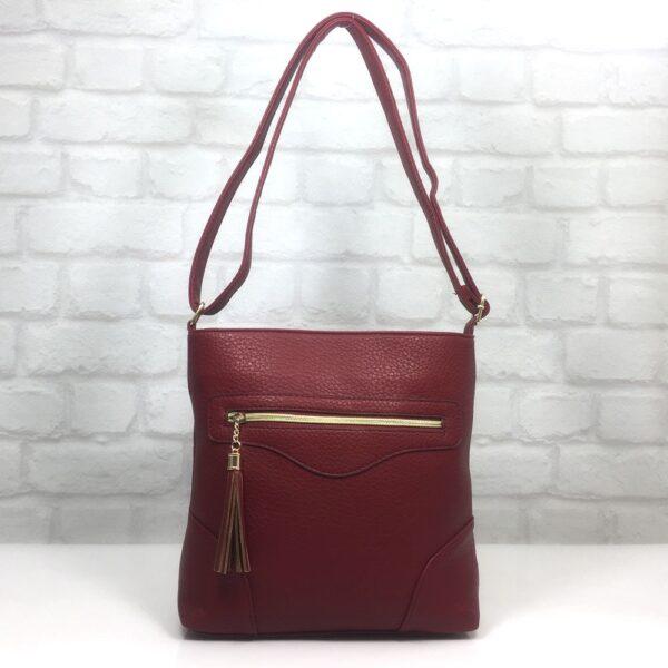 Чанта Еврика 64-151Б бордо