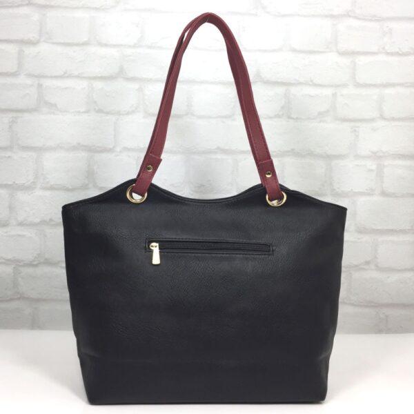 Чанта Еврика 64-154НС черно с бордо