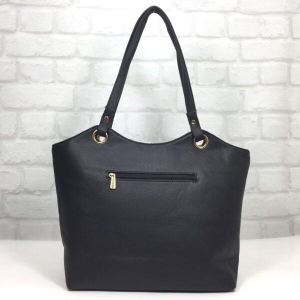 Чанта Еврика 64-157Н черна с бяло