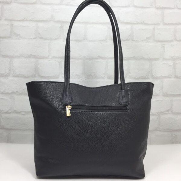 Чанта Еврика 64-156ТС тъмно синьо с бели орнаменти