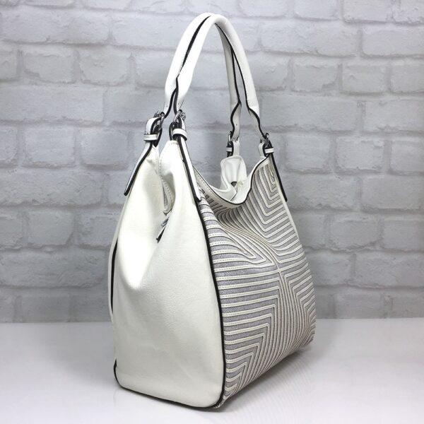 Чанта Мария С 35337СВ сива