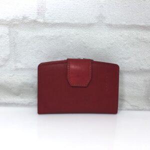Дамско портмоне естествена кожа GAP 000103 тъмно кафяво