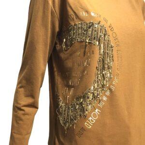 Дамска блуза 6480088Б брик
