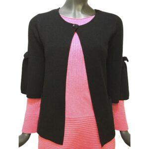 Дамска поло блуза 643739Н черна
