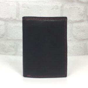 Мъжки портфейл GAP-02 естествена кожа, тъмно синьо