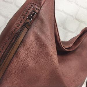 Дамска чанта тип торба Еврика цвят корал 818010КО - EvriakShop ®