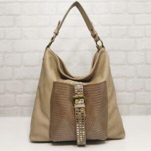 Бежова дамска чанта Lookat 33139БЕ - EvrikaShop®