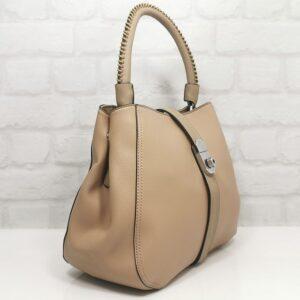 Дамска чанта Мария в бежов цвят - EvrikaShop ®