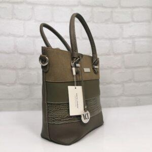 Чанта Еврика 418955КК  кафява (коняк)