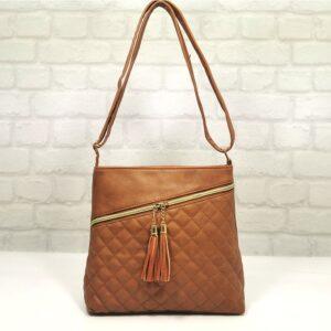 Чанта Еврика керемидена от еко кожа - EvrikaShop