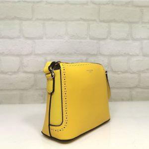 Чанта David Jones 6300-1Ж жълта - EvrikaShop ®