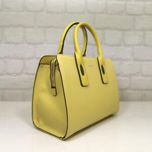 Дамска чанта David Jones 5700Ж лимонено жълто - EvrikaShop
