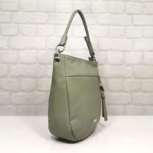 Дамска чанта David Jones в млечно зелено цвят EvrikaShop ®
