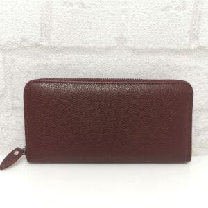 Дамско портмоне естествена кожа 1519Н черно голямо