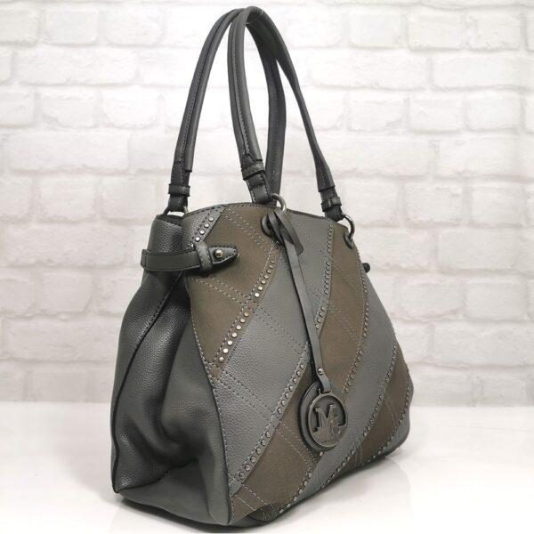 чанта Мария в сиво EvrikaShop