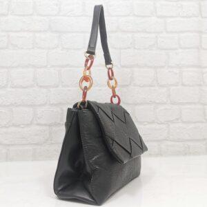 Дамска чанта Мария в черно - Онлайн магазин EvrikaShop