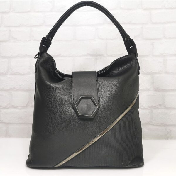 Дамска чанта в черно EvrikaShop