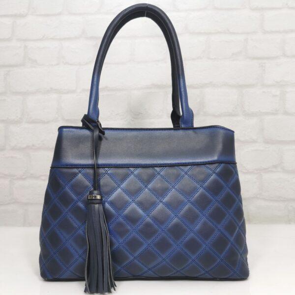 Тъмно синя дамска чанта EvrikaShop