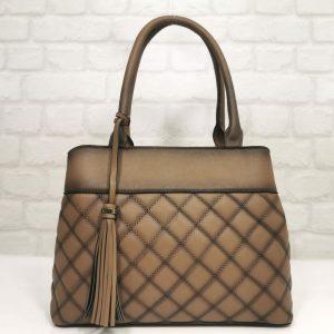 Кафява дамска чанта EvrikaShop