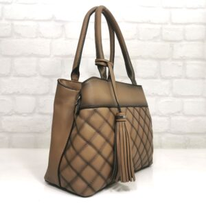 Дамска чанта Мария кафява - Онлайн магазин EvrikaShop