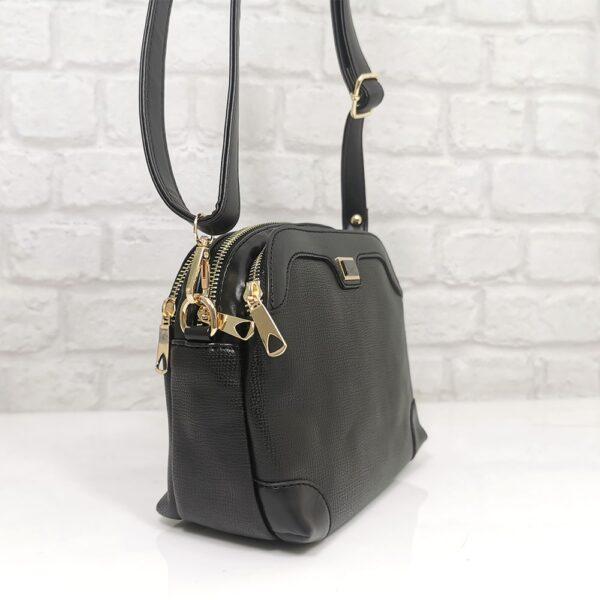 Малка чанта Еврика SP1324Н в черно - EvrikaShop ®