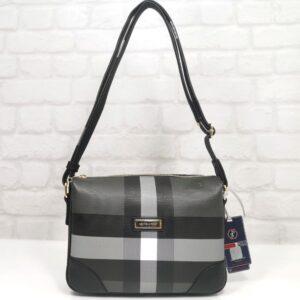 Чанта Silver Polo черно и сиво SP745Н - EvrikaShop ®