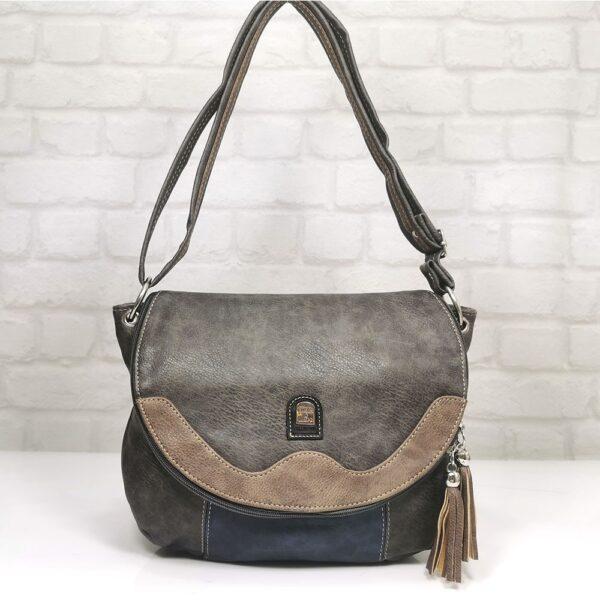 Дамска чанта Еврика с много прегради - EvrikaShop