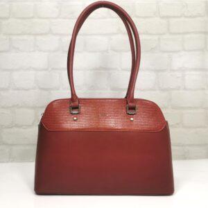 Елегантна чанта David Jones в червено - EvrikaShop