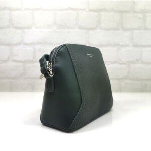 Малка чанта David Jones в маслено зелено - EvriakShop