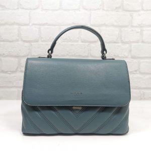 Средно голяма чанта David Jones в електриково синьо - EvrikaShop