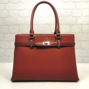 дамска чанта David Jones в червено