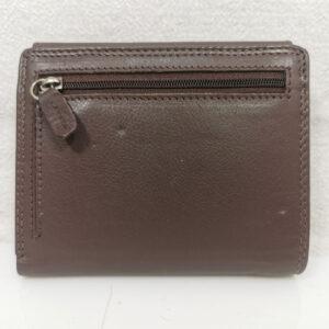 Дамско портмоне естествена кожа GAP 0022Н черно