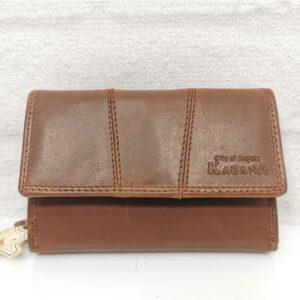 Дамско портмоне естествена кожа GAP 21-9005СН червено средна големина