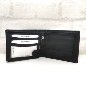 Мъжки портфейл от мека естествена кожа - EvrikaShop
