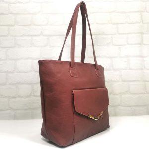 Ежедневна дамска чанта Еврика червена - EvrikaShop