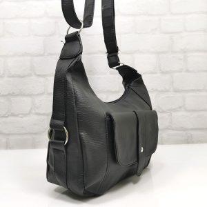Спортно-елегантна чанта Еврика в черен цвят - EvrikaShop