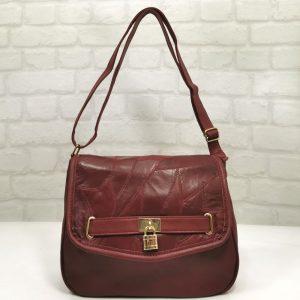 Ежедневна дамска чанта Еврика в червено - EvrikaShop