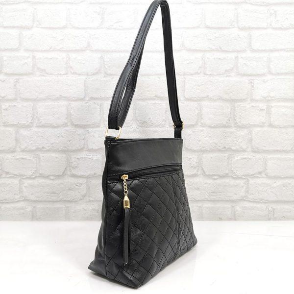 Лека и удобна чанта Еврика черна - EvrikaShop.